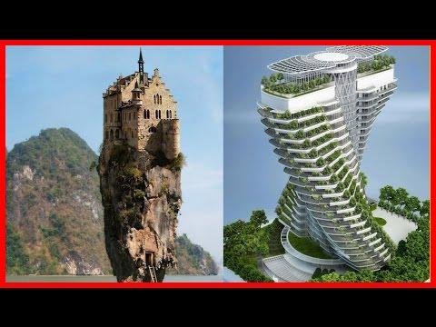10 невероятных архитектурных шедевров со всего мира!